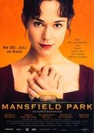 Mansfield Park - German Movie Poster (xs thumbnail)
