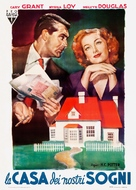 Mr. Blandings Builds His Dream House - Italian Movie Poster (xs thumbnail)