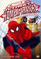 """""""Ultimate Spider-Man"""" - Brazilian DVD movie cover (xs thumbnail)"""