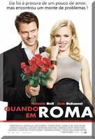 When in Rome - Brazilian Movie Poster (xs thumbnail)