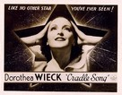 Cradle Song - Movie Poster (xs thumbnail)