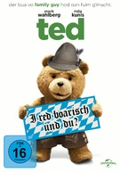 Ted - German DVD cover (xs thumbnail)