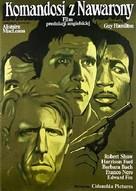 Force 10 From Navarone - Polish Movie Poster (xs thumbnail)