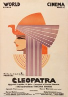 Cleopatra - Danish Movie Poster (xs thumbnail)
