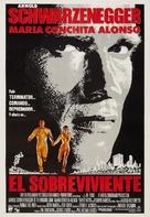 The Running Man - Venezuelan Movie Poster (xs thumbnail)