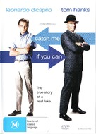 Catch Me If You Can - Australian DVD cover (xs thumbnail)