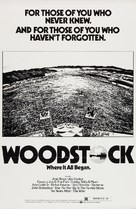 Woodstock - Re-release movie poster (xs thumbnail)