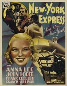 Non-Stop New York - French Movie Poster (xs thumbnail)