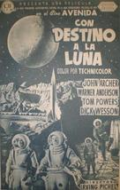 Destination Moon - Spanish poster (xs thumbnail)