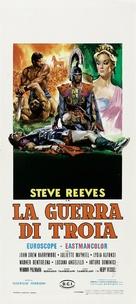 La guerra di Troia - Italian Movie Poster (xs thumbnail)