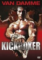 Kickboxer - Czech DVD cover (xs thumbnail)