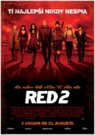 RED 2 - Slovak Movie Poster (xs thumbnail)