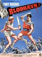 La rivolta dei sette - Danish Movie Poster (xs thumbnail)
