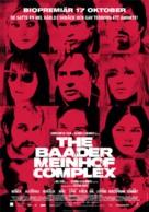 Der Baader Meinhof Komplex - Swedish Movie Poster (xs thumbnail)