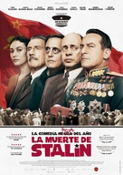 The Death of Stalin - Spanish Movie Poster (xs thumbnail)