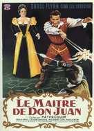 Il maestro di Don Giovanni - French Movie Poster (xs thumbnail)
