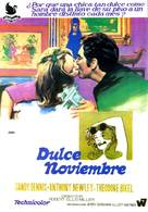 Sweet November - Spanish Theatrical poster (xs thumbnail)