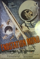 Destination Moon - German Movie Poster (xs thumbnail)