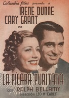 The Awful Truth - Spanish Movie Poster (xs thumbnail)
