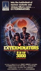 Exterminators of the Year 3000 - VHS movie cover (xs thumbnail)