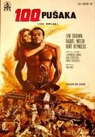 100 Rifles - Yugoslav Movie Poster (xs thumbnail)