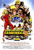 Cannonball Run 2 - Spanish Movie Poster (xs thumbnail)