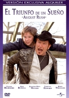 August Rush - Spanish DVD movie cover (xs thumbnail)