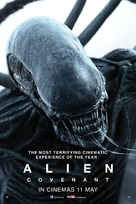 Alien: Covenant - Malaysian Movie Poster (xs thumbnail)