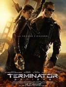 Terminator Genisys - French Movie Poster (xs thumbnail)