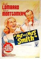 Mr. & Mrs. Smith - Australian Movie Poster (xs thumbnail)
