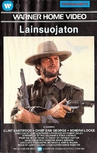 The Outlaw Josey Wales - Finnish VHS movie cover (xs thumbnail)