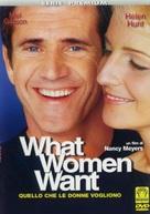 What Women Want - Italian Movie Cover (xs thumbnail)