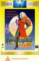 Ladies of the Chorus - Australian DVD cover (xs thumbnail)
