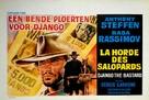 Django il bastardo - Belgian Movie Poster (xs thumbnail)