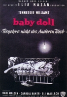 Baby Doll - German Movie Poster (xs thumbnail)
