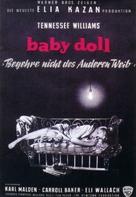 Baby Doll - German Movie Poster (xs thumbnail)