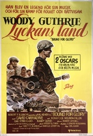 Bound for Glory - Swedish Movie Poster (xs thumbnail)