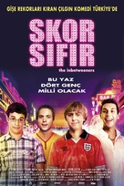 The Inbetweeners Movie - Turkish Movie Poster (xs thumbnail)