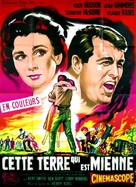 This Earth Is Mine - French Movie Poster (xs thumbnail)