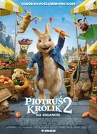 Peter Rabbit 2: The Runaway - Polish Movie Poster (xs thumbnail)