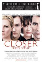Closer - Brazilian Movie Poster (xs thumbnail)