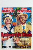 Boulevard du rhum - Belgian Movie Poster (xs thumbnail)