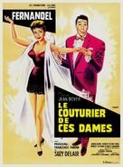 Le couturier de ces dames - French Movie Poster (xs thumbnail)