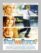 Shall We Dance - French Movie Poster (xs thumbnail)