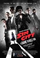 Sin City: A Dame to Kill For - Belgian Movie Poster (xs thumbnail)