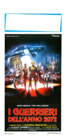 I guerrieri dell'anno 2072 - Italian Movie Poster (xs thumbnail)