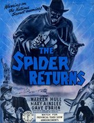 The Spider Returns - poster (xs thumbnail)