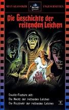 La noche del terror ciego - German VHS cover (xs thumbnail)