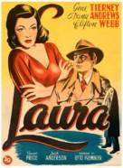 Laura - Swedish Movie Poster (xs thumbnail)