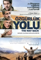 The Way Back - Turkish Movie Poster (xs thumbnail)
